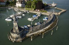Port Lindau Stock Image