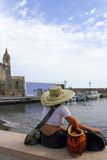At the port of Lipari Royalty Free Stock Photo