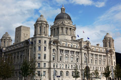 Port of  Liverpool Building. UK Royalty Free Stock Images