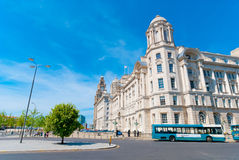Port of Liverpool Building Royalty Free Stock Images