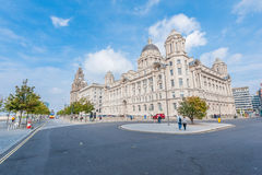 Port of Liverpool Building. In downtown Liverpool, England, UK Stock Photography