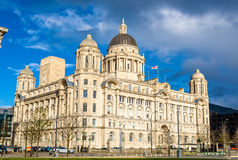 Port of Liverpool Building - England. UK Stock Photos