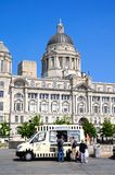 Port of Liverpool building. Stock Images