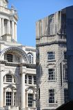 Port of Liverpool building. Royalty Free Stock Images