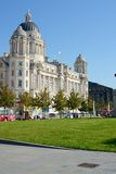 Port of Liverpool building Stock Photography
