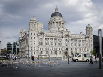 Port of Liverpool Building, Liverpool, UK Stock Images