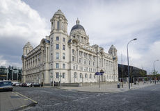 Port of Liverpool Building, Liverpool, UK Stock Image