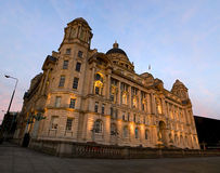 Port of Liverpool building on Liverpool waterfront Stock Image