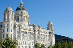 The Port of Liverpool building. Part of the three graces,  Merseyside, Liverpool, UK Stock Photos