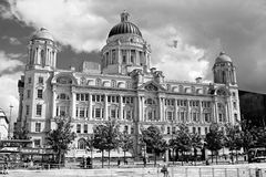 Port of Liverpool Building. The Port of Liverpool Building in Liverpool, UK Royalty Free Stock Photos
