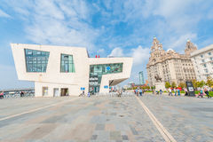 Port of Liverpool Royalty Free Stock Photos