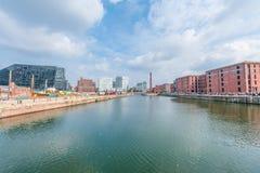 Port of Liverpool Stock Photo