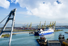 Port of Livorno Stock Photo