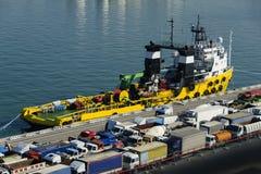 Port of Livorno Stock Image
