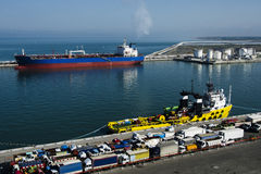 Port of Livorno Royalty Free Stock Images