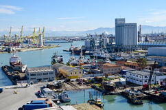 Port of Livorno, Italy Stock Photos