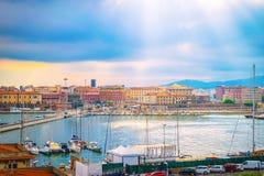 Port of Livorno, Italy Royalty Free Stock Image