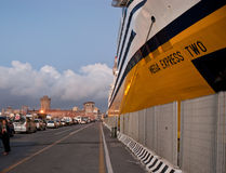 The port of Livorno Royalty Free Stock Photo