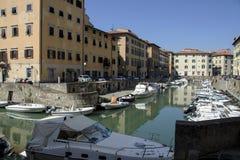 Port of Livorno Stock Images