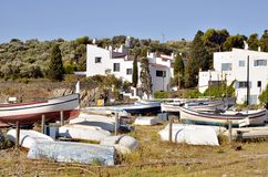Port Lligat in Spain Stock Photography