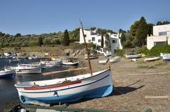 Port Lligat in Spain Stock Image
