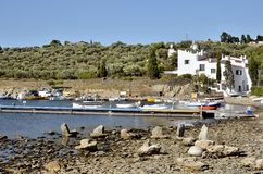 Port Lligat in Spain Royalty Free Stock Image