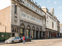 Port of London Authority facade, Charterhouse Street, London Stock Image
