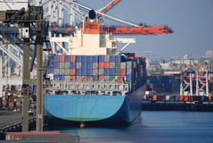 Port of Los Angeles royalty free stock images