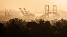 The Port of Los Angeles Stock Photography