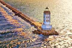 Port Los Angeles latarnia morska fotografia stock