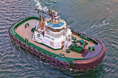 Port of Los Angeles Tug Boat Royalty Free Stock Photography