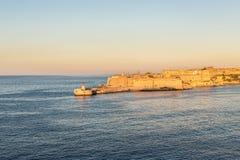 Port los angeles Valletta, Malta Obraz Stock