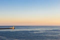 Port los angeles Valletta, Malta Obrazy Stock