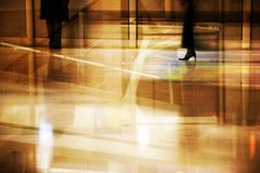 port lotniczy grunge kolaż Fotografia Stock