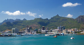 Port Louis Royalty Free Stock Images