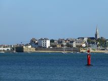 Port Louis, Brittany,France. Royalty Free Stock Photos