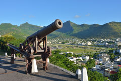 Port Louis,  the capital of Mauritius Royalty Free Stock Photo