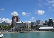 Port Louis 2. Center of Port Louis, the capital of Mauritius Stock Photos