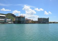Port Louis 3. Center of Port Louis, the capital of Mauritius Stock Photography