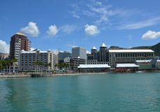 Port Louis 4. Center of Port Louis, the capital of Mauritius Royalty Free Stock Photography