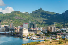 Port Louis cityscape, Mauritius Stock Photography