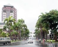 Port Louis cityscape Stock Images