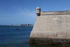 Port-Louis Fortress, Brittany, France Royalty Free Stock Image