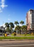 Port Louis huvudstad av Mauritius Arkivfoton