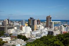 Port Louis, Isola Maurizio Fotografia Stock