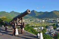 Port-Louis, la capitale des Îles Maurice Photo libre de droits