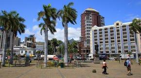 Port Louis Mauritius Lizenzfreies Stockbild