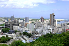 Port Louis - Mauritius. Port Louis, the capital of the Island of Mauritius Royalty Free Stock Photo