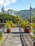 Port Louis, Mauritius. Stone Bridge in Port Louis, Mauritius stock photos