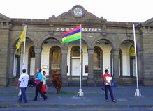 Port Louis Post Office in Mauritius Royalty Free Stock Images
